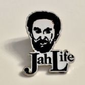 """Jah Life"" Enamel Metal Lapel Badge"